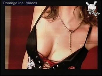Emilia Attias guge tits cleavage close up shot