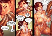 Interracial comic by BlacknWhitecomics - The KarASSians the Next Generation - 106 pages