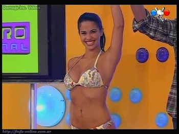 Delfina Gerez Bosco hot dance in bikini