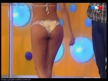 Delfina Gerez Bosco cute ass in thong