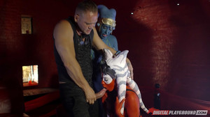 Aria Alexander, Eva Lovia - Star Wars Underworld: a XXX Parody sc5, HD, 720p