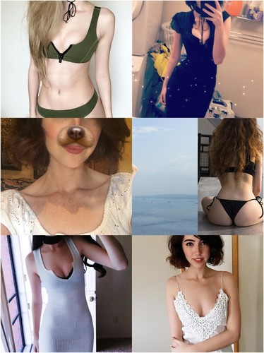 Sweet Teen With A Pretty Face Makes Hot Nude Pictures + 7 GIFs