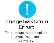 Amalia Granata booty in black thong see through