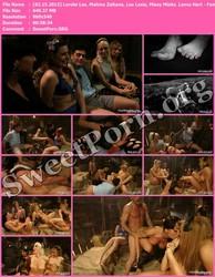 FootWorship.com [02.15.2013] Lorelei Lee, Mahina Zaltana, Lea Lexis, Missy Minks & Lance Hart - Faster, PUSSYFOOT! Kill! Kill! A FOOTSPLOITATION film! Thumbnail