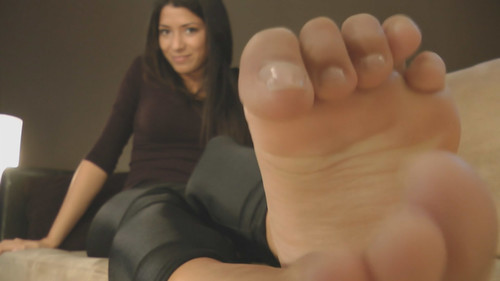 Angela's Feet in Your Face - (Full HD Version)