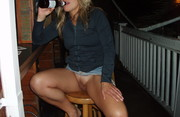 Upskirt - No Panties