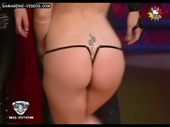 Victoria Onetto tight ass in g-string Damageinc Videos