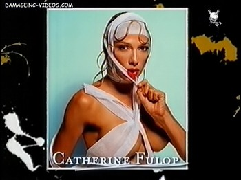 Catherine Fulop sexy tits almost bare