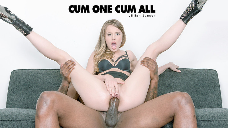 Babes: Jillian Janson - Cum One Cum All 1080p WebRip (2017)