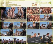 Roskilde Festival Naked Run Public Nudity 2010  - A film about nudists HD 720p