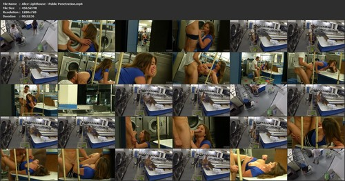 Alice Lighthouse - Public Penetration sc3, HD, 720p