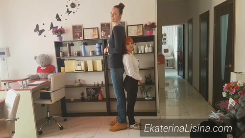 Height Comparison - 2 [Tall Amazon Ekaterina Lisina Height-206 cm.]