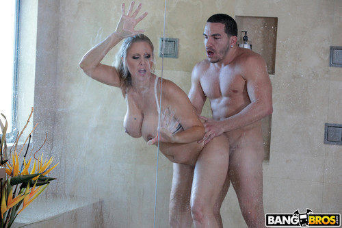 Big Tits Round Asses - Julia Ann (Fucking The Stepson In The Shower)