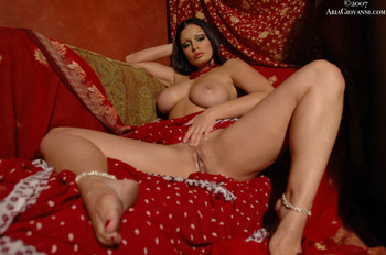 Photoset name: 1162_glam_Red & White Saree Part II