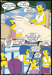 Simpsons Old Habits Chapters 1 to 8 by Croc