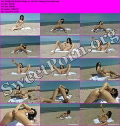 HotKinkyJo.xxx [01.24.2014] Hot Kinky Jo - Self anal fisting on the beach Thumbnail