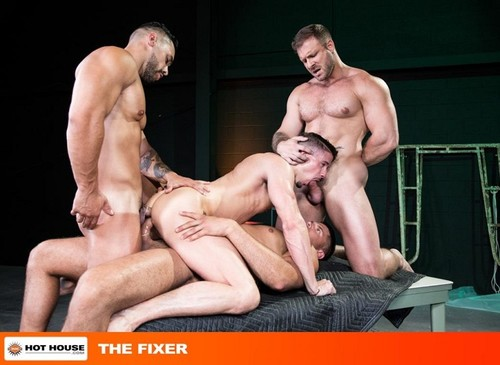 HotHouse – The Fixer: Austin Wolf, Skyy Knox, Arad Winwin & Tyler Roberts