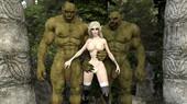 3d comic by Gerasya - Orcs