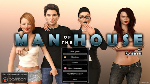 Faerin - Man of the house Version 0.7.5b Extra + Incest Patch + Walkthrough + CG