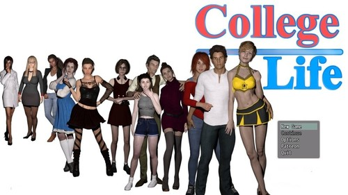 MikeMasters - College Life - Version 0.1.5a Full Pack + Walkthrough