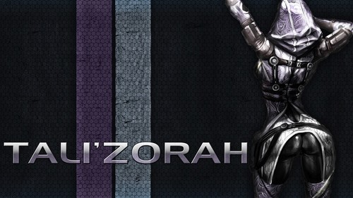 Tali'Zorah nar Rayya ( Mass Effect ) assembly