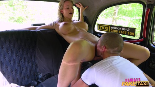 Female Fake Taxi: Nathaly Cherie - Big Tits Bounce In Dirty Cab Sex (1080p)
