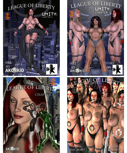 League of Liberty - Chapter 1-33 (BDSM, SciFi, strange) Cover