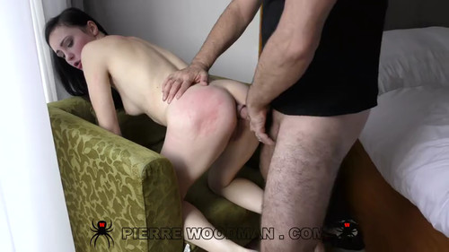 Woodman Casting X - Kiara Gold (Hard - Rough Sex Is What She Loves)