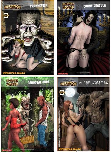 Monster Squad 1-4 Cover