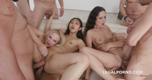 LegalPorno.com - Outnumbered both ways Part 2 Krystal Kaytlin, May Thai, Angie Moon Balls Deep Anal / DAP / Squirt To Mouth / Fisting GIO679