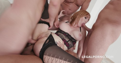 LegalPorno.com -  Dap Destination with Lauren Phillips Balls Deep Anal / DAP / Gapes / Swallow GIO700